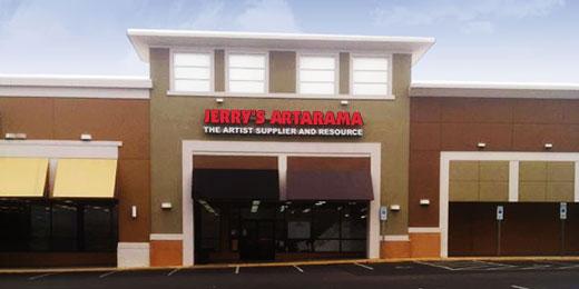 Jerry's Artarama Retail Art Supply Store in Raleigh, NC