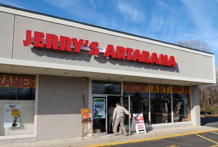 Jerry's Artarama Retail Art Supply Store in Lawrenceville, NJ