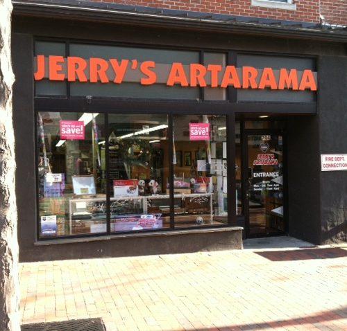 Exterior Picture of Jerry's Artarama Art Supply Store in Wilmington, DE
