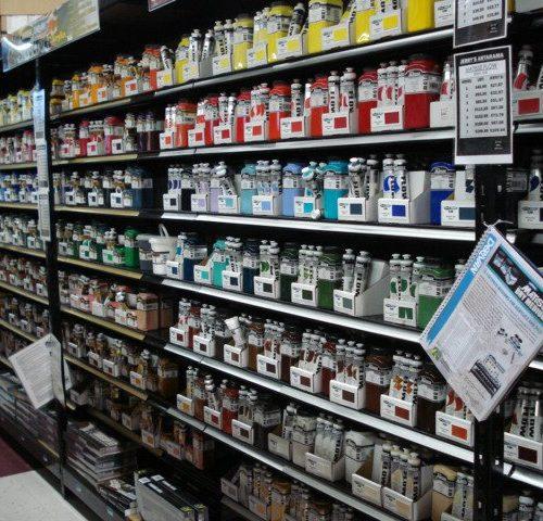 Paints & Other Art Supplies inside Jerry's Artarama of Nashville, TN