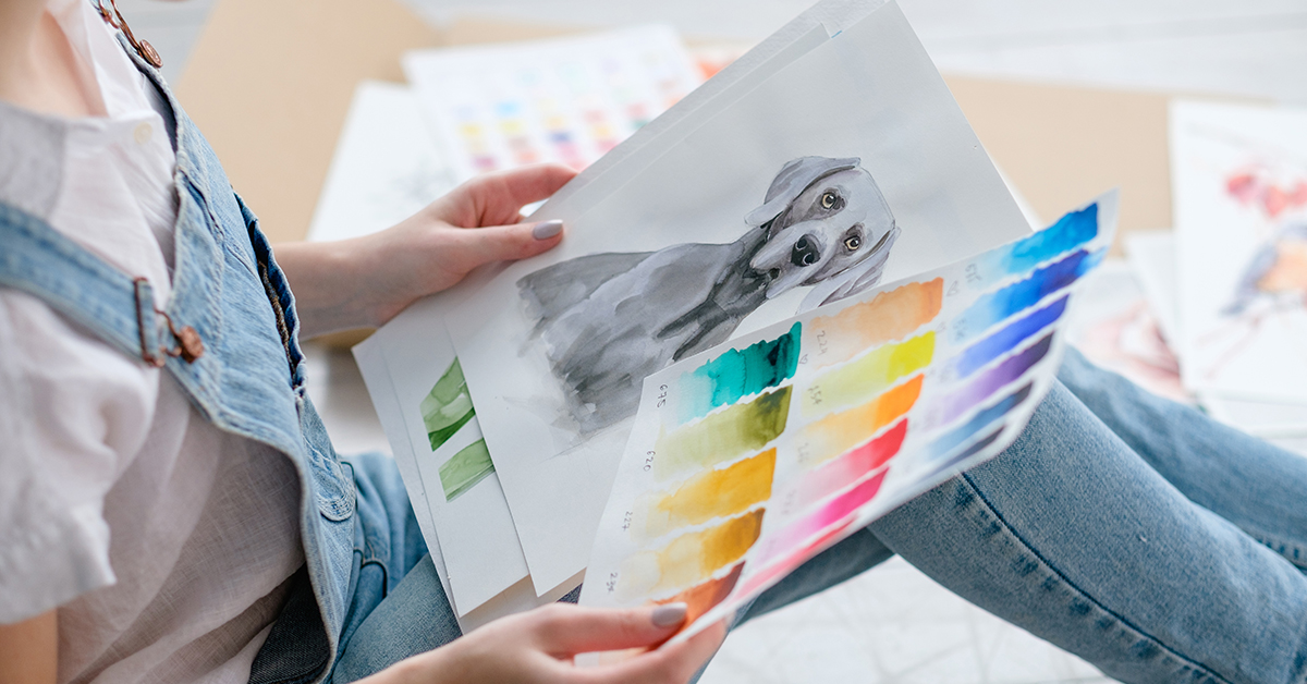 How to Paint or Draw From a Photo